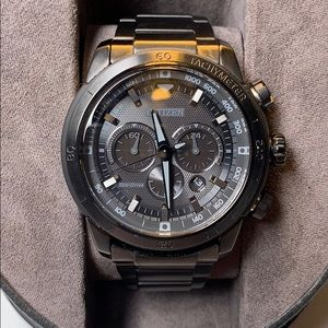 Citizen echo drive chronograph